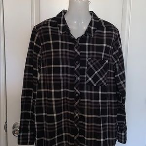 WOOLRICH Button Down Plaid Flannel Size XL